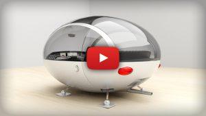 Oeuf de Karamazout in 3D