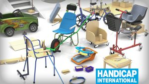 "Illustration pour ""Handicap International"""